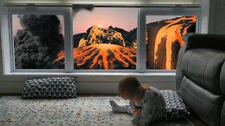 Window Remote Control: Lava