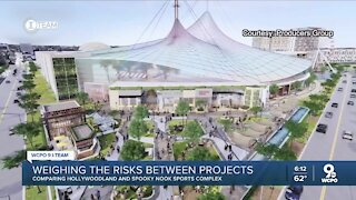 Weighing the risks between Hollywoodland and Spooky Nook