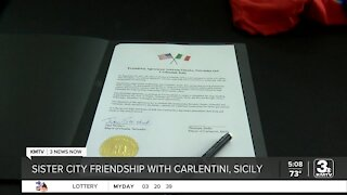 Omaha signs sister city agreement with Carlentini, Sicily; the communities have historical ties