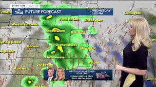 Wednesday is cloudy with chance for thundershowers