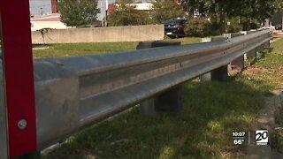 City of Detroit installs guard rails to prevent crashes