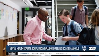 Mental health experts: Social media influenced students feeling isolated, anxious