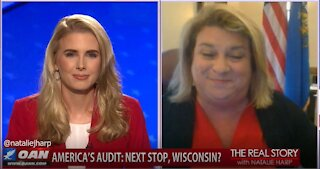 The Real Story - OAN Wisconsin Audit with State Rep. Janel Brandtjen