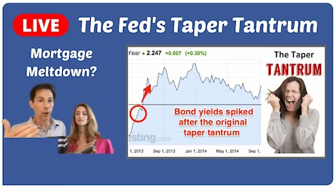 Revisiting The Taper Tantrum - will it CRASH Markets?
