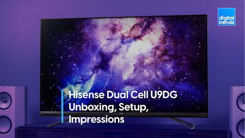 Hisense Dual Cell U9DG Unboxing, Setup, Impressions