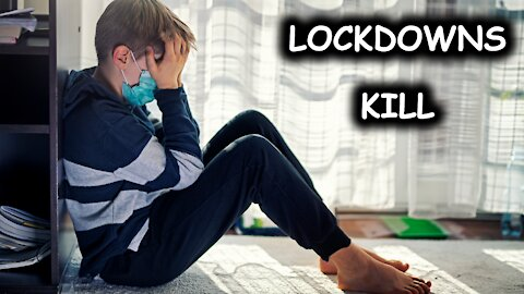 Kids' Suicide & Mental Health Issues Spiked amid COVID lockdowns, Research finds - Just the News Now