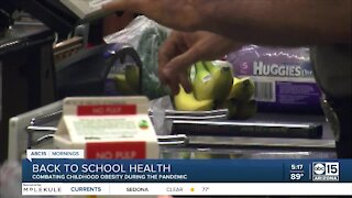 More kids returning to school with weight issues