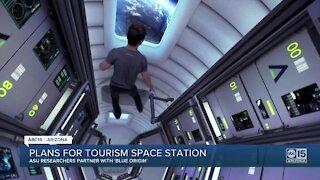 ASU researchers partner with 'Blue Orgin' as plans for space tourism continue