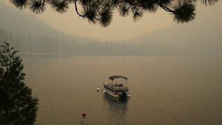 Smoke From Western Wildfires Blankets Cities