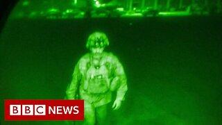 Gunfire as Taliban celebrate US leaving Afghanistan - BBC News