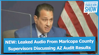 NEW: Leaked Audio From Maricopa County Supervisors Discussing AZ Audit Results