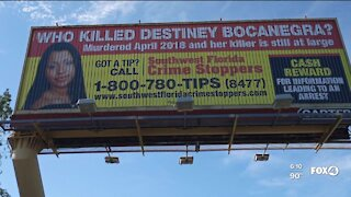 CRIME STOPPERS NEEDS YOUR HELP IN MURDER OF DESTINEY BOCANEGRA