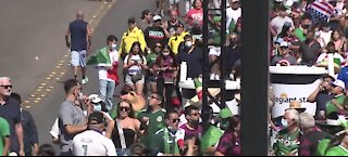 Fans navigate thrills, traffic in Gold Cup final