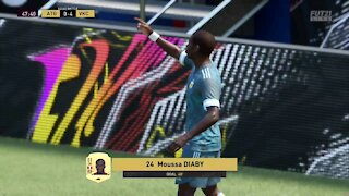 Fifa21 FUT Squad Battles - Moussa Diaby goal