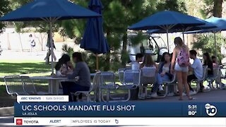 UC Schools mandate flu shot for students and employees