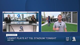 Rose Lavelle to play at TQL Stadium with USWNT