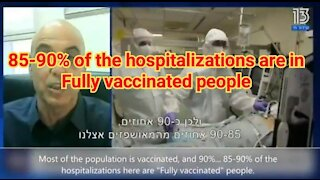 """Narrative """"Pandemic of the unvaccinated"""" gets DEBUNKED in Israel"""