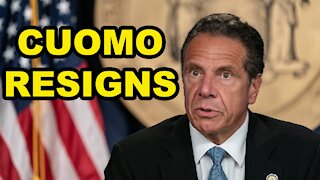 New York Governor Andrew Cuomo resigns - Just the News Now