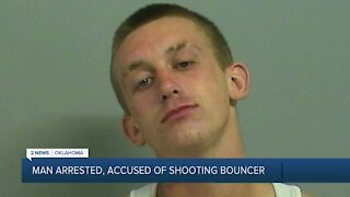 Man Arrested, accused of shooting bouncer