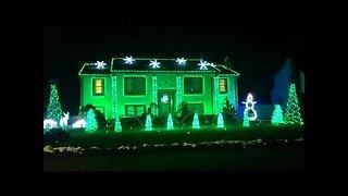 Home uses over 33,000 lights to showcase incredible light display