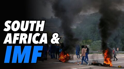"""IMF loans and South Africa """"War Zone"""""""