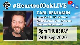 Livestream with Carl Benjamin 24.9.20