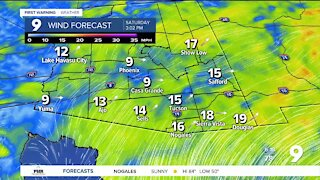 Warm, dry, breezy weather continues into the weekend