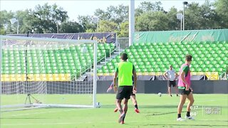 Rowdies ready for unfinished business