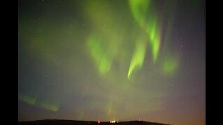 Northern Lights (Aurora Borealis) Chasing Tour in Fairbanks, Alaska in April 24, 2021