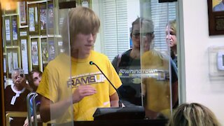 Chris addresses DASD School Board against CRT