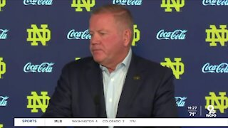"""""""The opportunity to play Notre Dame"""" - Why Brian Kelly said he added UC to Notre Dame's schedule"""