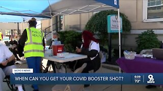 Booster shots for Covid-19 start Friday