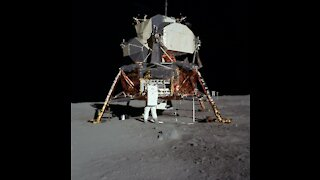 Apollo 11 Space Capsule Falling From Space!!!