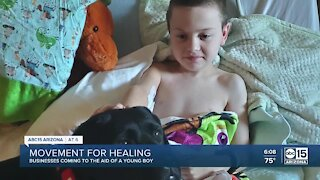How an Arizona community is supporting an 8-year-old boy
