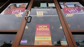 Jobless Claims Near Pandemic Low
