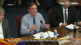 Arizona Audit Head Reports Thousands of Fake Duplicate Ballots During Hearing -