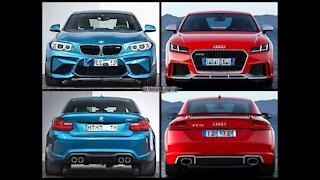 Audi TT RS Vs BMW M5 Comp - 1/4 Mile Drag Race