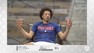 Cade Cunningham talks after first practices with Pistons teammates