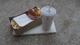 Blasian Babies DaDa In-N-Out Burger Animal Style!