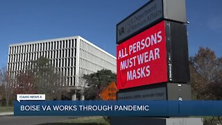 Boise VA finds it increasingly difficult to care for veterans during the pandemic
