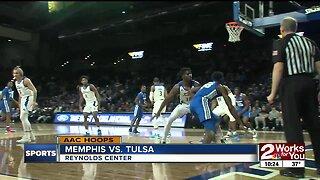Tulsa Basketball blows out #20 Memphis, 80-40