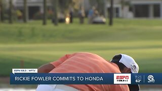 Rickie Fowler commits to the 2020 Honda Classic