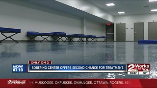 Tulsa Sobering Center offers second chance for treatment