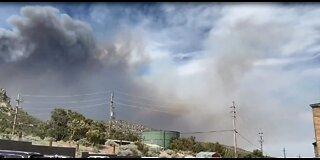 Mahogany Fire growing near Las Vegas