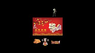 Happy Chinese New Year most characters