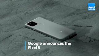 Google announces Pixel 5