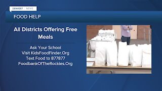 All students get free meals through June