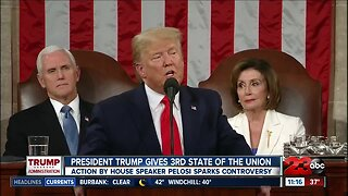 Local residents react to President Donald Trump's State of the Union address
