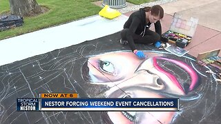 Tropical Storm Nestor cancels some Pinellas County weekend events