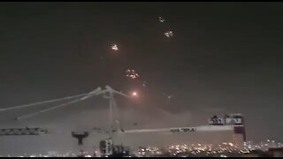 Israel's Iron Dome Destroys Hamas Rockets
